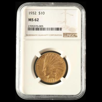 1932-10-gold-indian-head-eagle-ngc-ms62