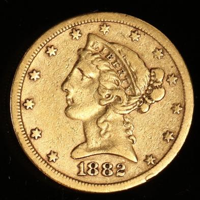 1882-s-5-gold-liberty-head-half-eagle
