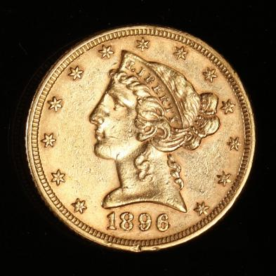 1896-5-gold-liberty-head-half-eagle