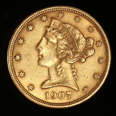 1907-5-gold-liberty-head-half-eagle