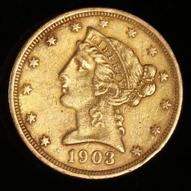 1903-s-5-gold-liberty-head-half-eagle