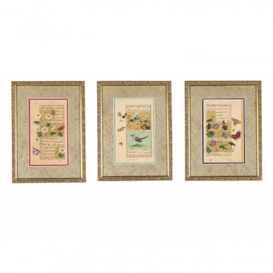 three-indian-miniature-paintings-by-vijay-sharma-indian-b-1962