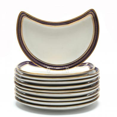 an-assembled-set-of-ten-english-crescent-plates