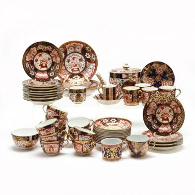 an-assembled-english-imari-partial-tea-service-19th-century