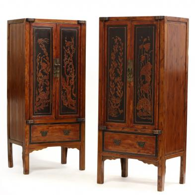 a-pair-of-chinese-carved-and-lacquered-cabinets