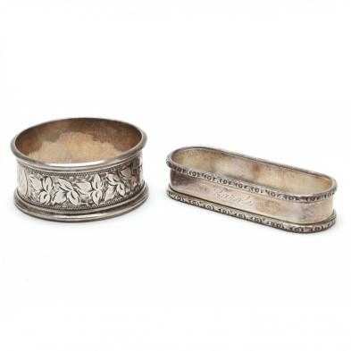 two-sterling-silver-napkin-rings