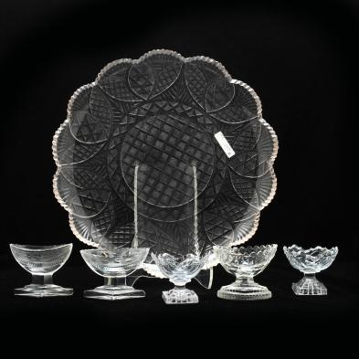 group-of-brilliant-cut-glass