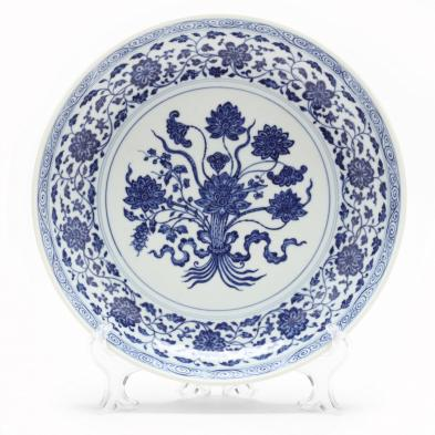 a-large-chinese-blue-and-white-dish