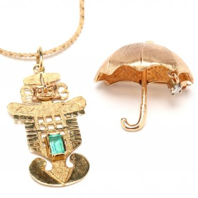 two-gold-jewelry-items