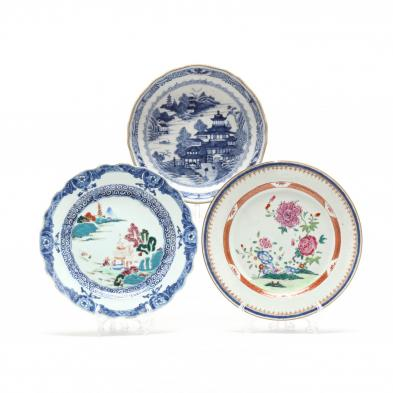 three-pieces-of-chinese-export-porcelain