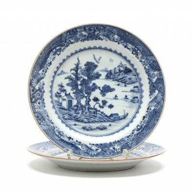 pair-of-chinese-export-porcelain-plates
