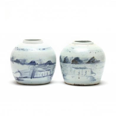 two-antique-canton-ginger-jars