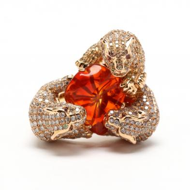 18kt-rose-gold-and-diamond-panther-ring