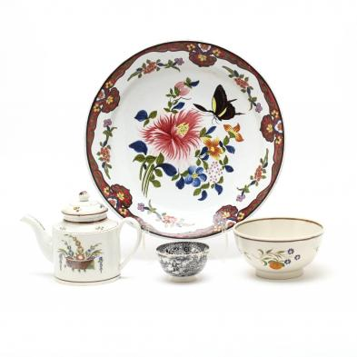 four-antique-tableware-items