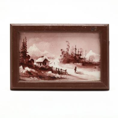 framed-and-painted-porcelain-plaque