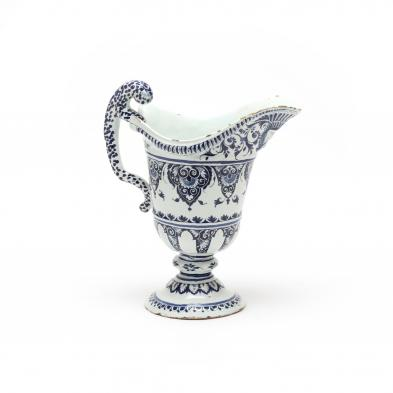 19th-century-large-delft-helmet-pitcher