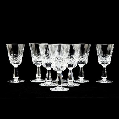 waterford-group-of-eight-kenmare-claret-wine-glasses
