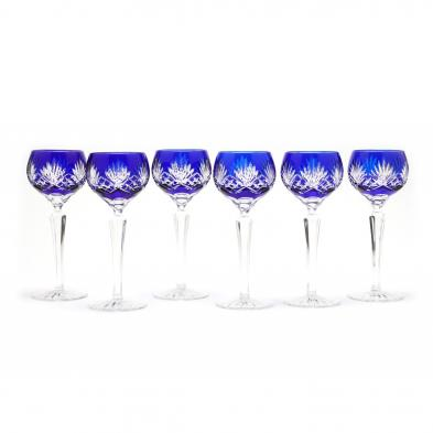 ajka-group-of-six-carolyne-rose-wine-glasses