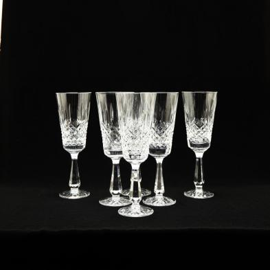 waterford-group-of-six-kenmare-water-goblets