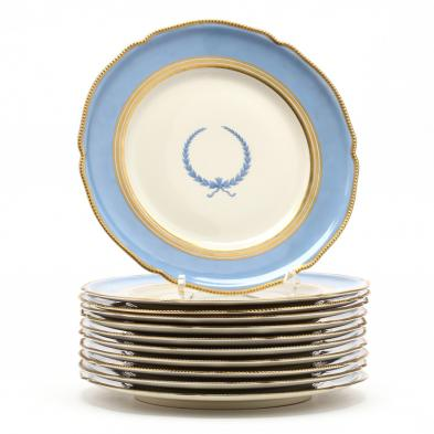 11-rosenthal-empire-porcelain-dinner-plates