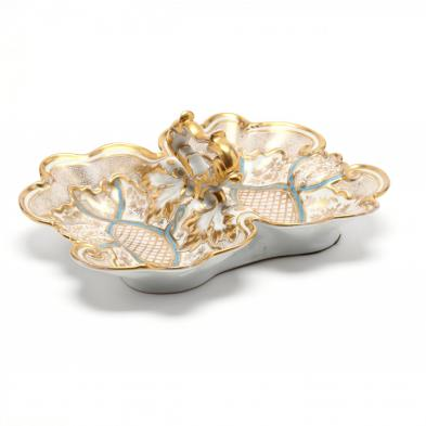 carl-tielsch-gilt-and-painted-porcelain-lobster-dish