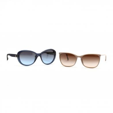 two-pair-of-chanel-sunglasses
