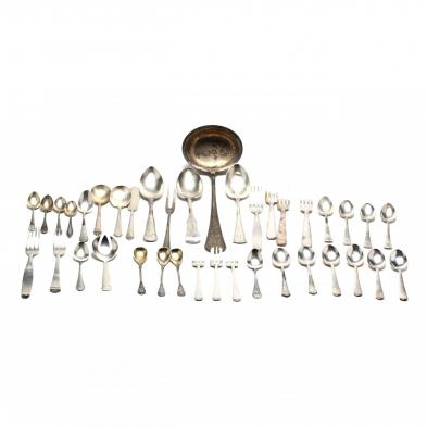 assorted-continental-silver-flatware