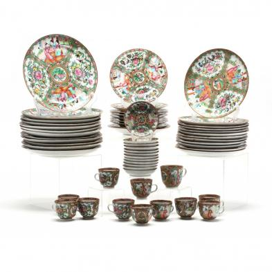 an-assortment-of-chinese-export-porcelain-tableware