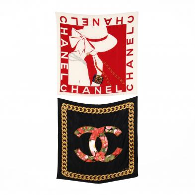 two-silk-scarves-chanel