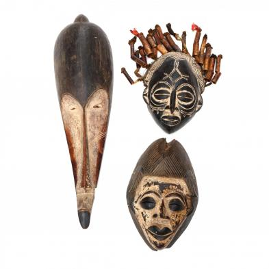 three-african-masks-one-fang-one-chokwe-and-one-punu
