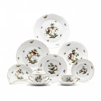 herend-rothschild-bird-porcelain-dinner-service