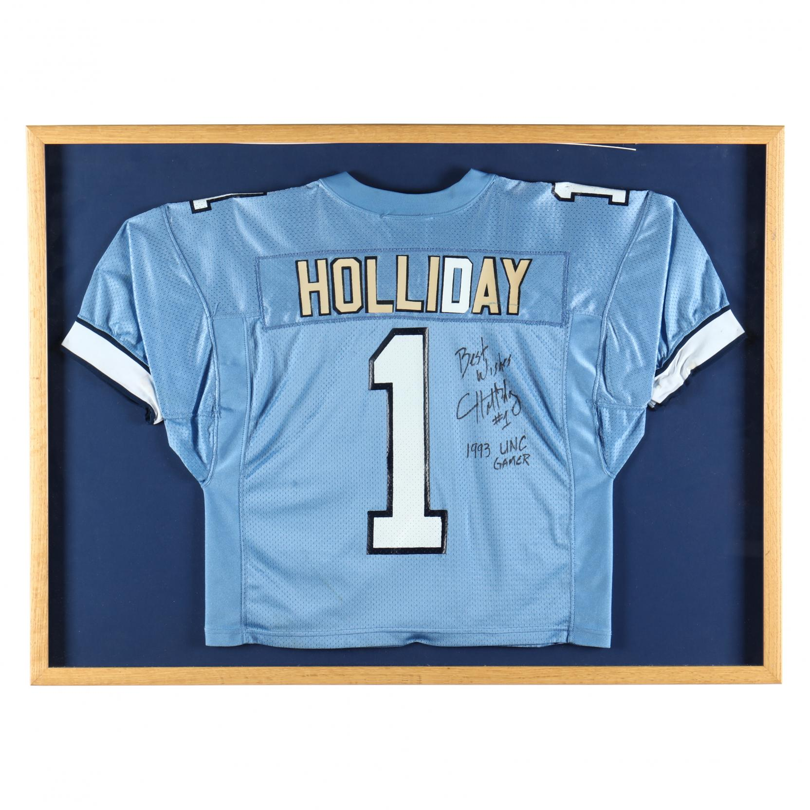 corey-holliday-unc-autographed-football-jersey