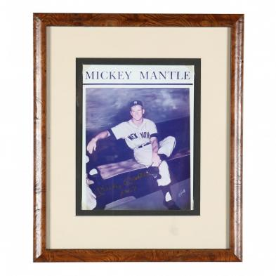mickey-mantle-autographed-photo