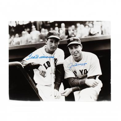 joe-dimaggio-and-ted-williams-signed-photograph