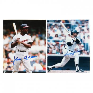 hank-aaron-and-reggie-jackson-signed-color-photographs