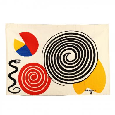 alexander-calder-american-1898-1976-la-poire-le-fromage-et-le-serpent-the-pear-the-cheese-and-the-serpent-from-i-the-bicentennial-tapestries-i