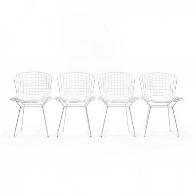 harry-bertoia-american-1915-1978-set-of-four-wire-chairs