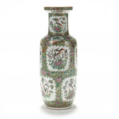 a-large-chinese-export-famille-rose-vase