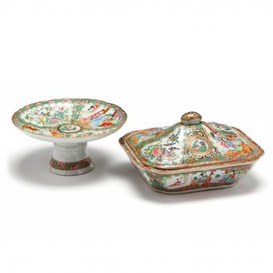 two-chinese-export-rose-mandarin-serving-pieces