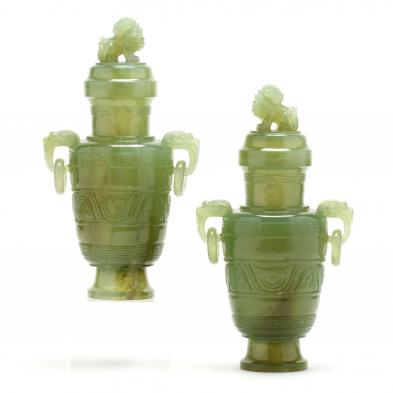 pair-of-chinese-carved-stone-lidded-jars