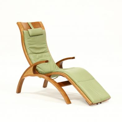 thomas-moser-cherry-reclining-lounge-chair