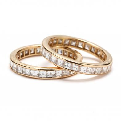 pair-of-18kt-gold-and-diamond-eternity-bands-oscar-heyman-brothers