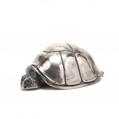 a-sterling-silver-miniature-turtle-by-s-kirk-son