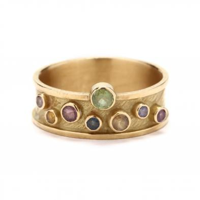 18kt-gold-and-gem-set-ring-barbara-heinrich