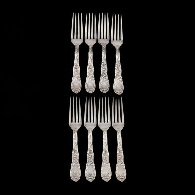 a-set-of-8-tiffany-co-chrysanthemum-sterling-silver-forks