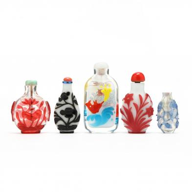 five-chinese-glass-stuff-bottles