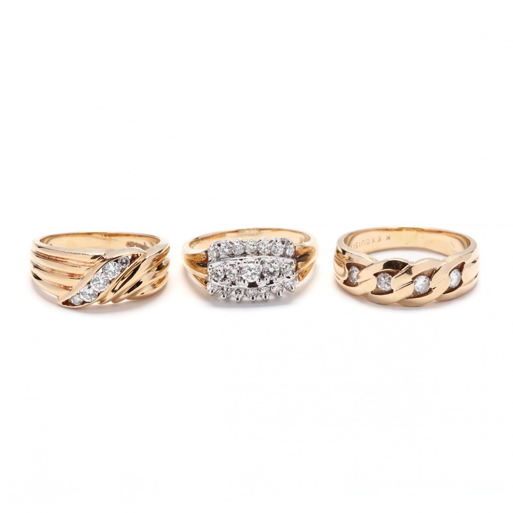 three-gold-and-diamond-rings