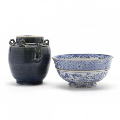 chinese-blue-and-white-bowl-and-vessel