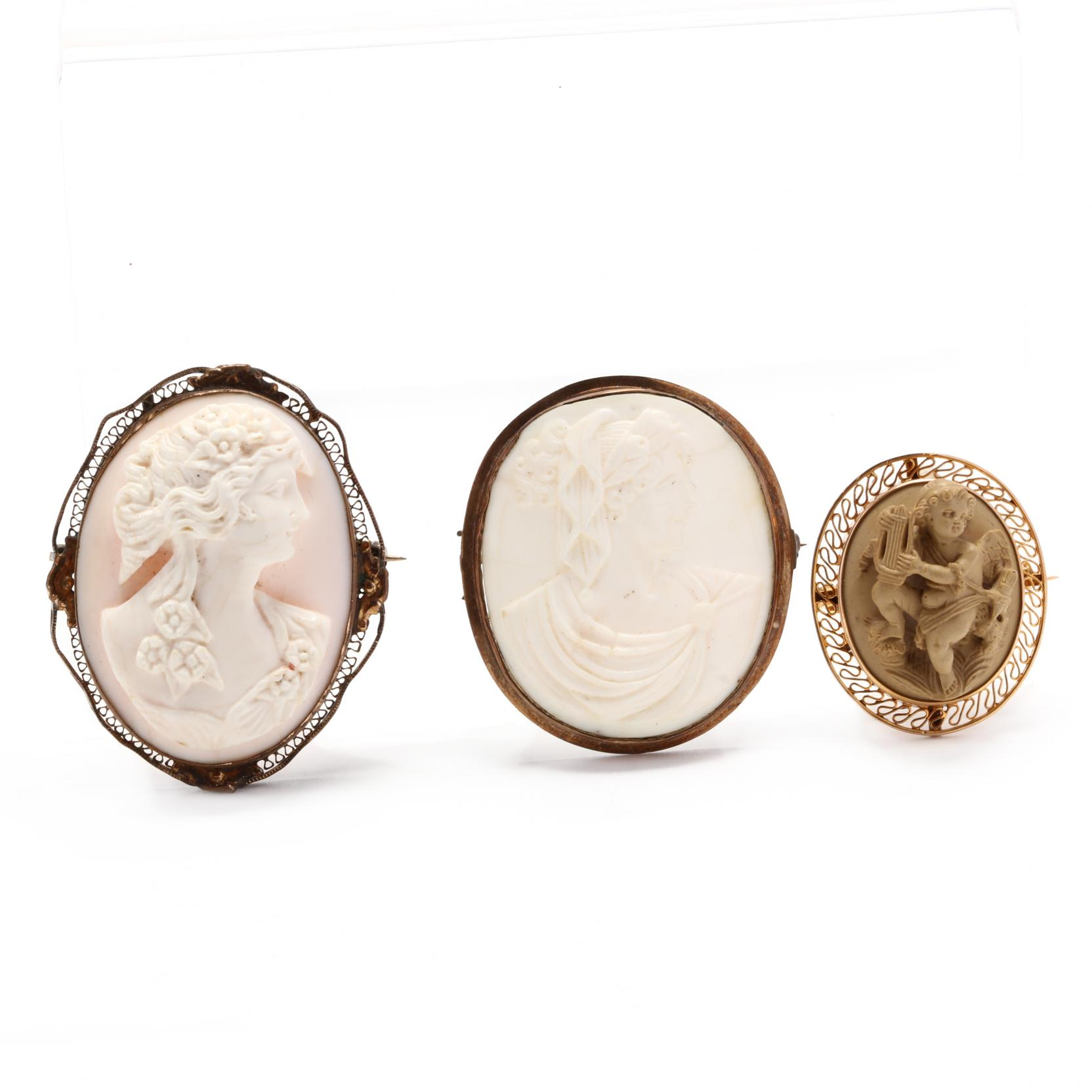 three-victorian-cameo-brooches