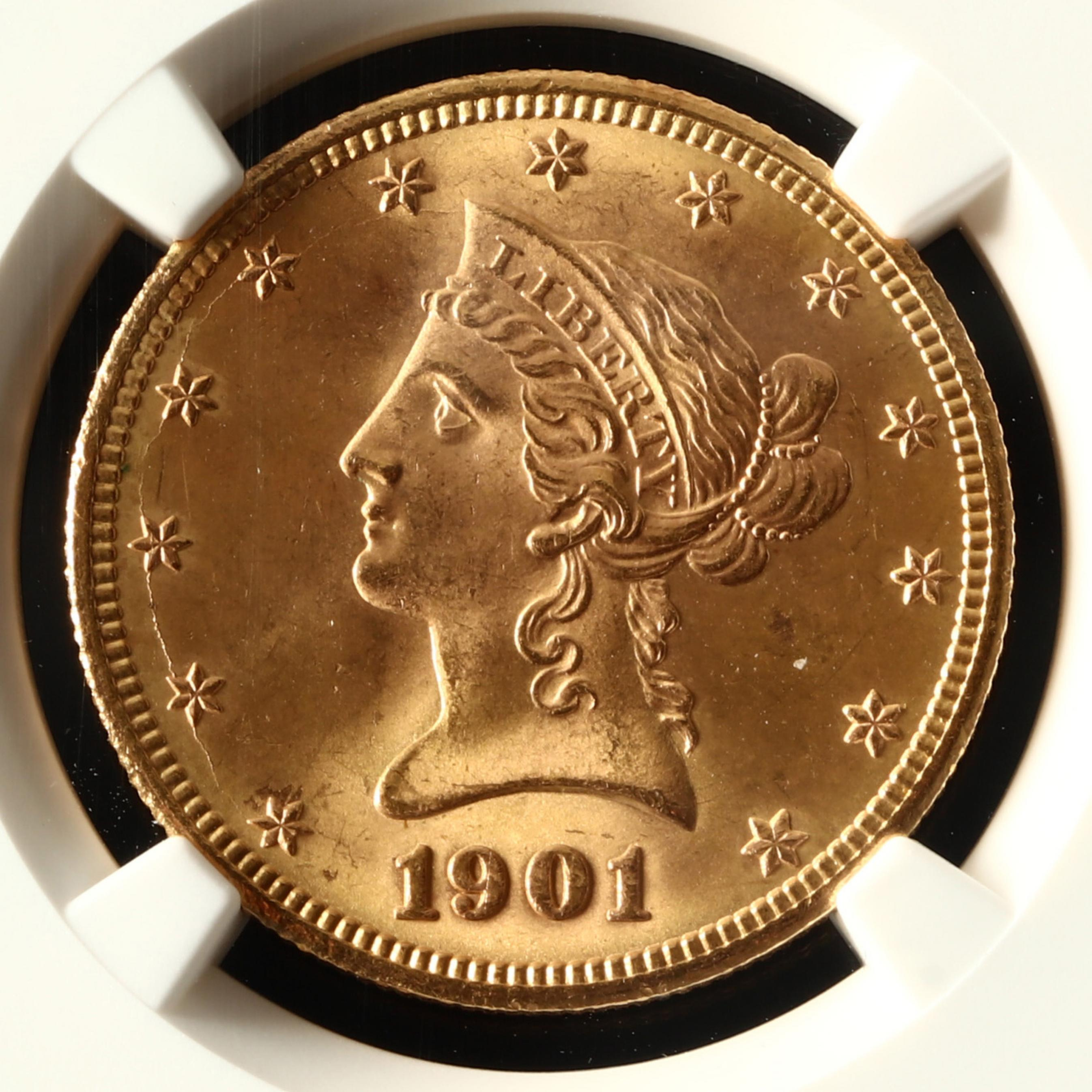 1901-s-10-liberty-head-gold-eagle-ngc-ms65